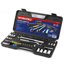 WORKPRO 52pc Socket Set
