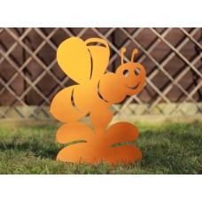 Bee Garden Silhouette