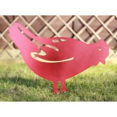 Chicken Garden Silhouette