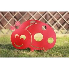 Ladybird Garden Silhouette