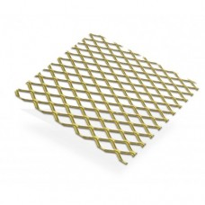 Gold Anodised Aluminium Grill 12mm x 9mm Pitch | 1m x 500mm x 1.5mm