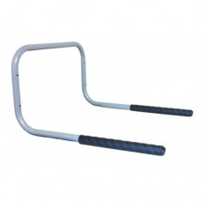 Fixed Wall Mounted Bike Rack 2/3 Bike Stand with Anti-Slip Ribbed Plastic | 500mm