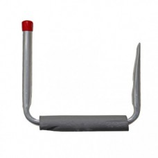 Large Single Steel Hook with Protective Foam Padding | 220mm
