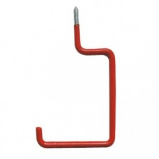 Screw in Plastic Dipped Square Hooks (Pair)