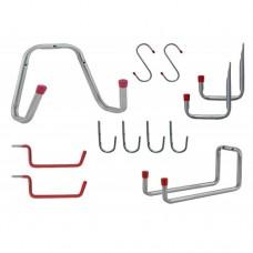 Garage or Shed Storage Starter Pack | 12 Various Hooks