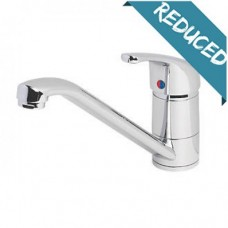 Labello Ferrara Compact Single Lever Basin Mixer Tap - Chrome