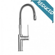 Labello Milan Spring Side Level Mixer Tap Chrome