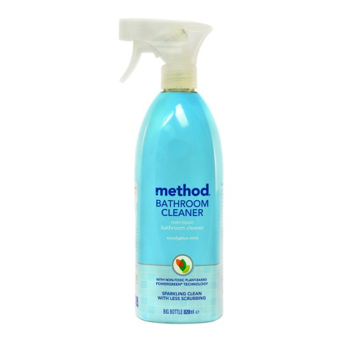 Method Bathroom Cleaner NonToxic Eucalyptus Mint Ml - Non toxic bathroom cleaner