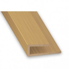PVC Trim Oak Effect | 14mm x 1m