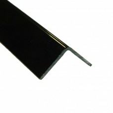 PVC Equal Angle Black Gloss | 20mm x 20mm x 2m