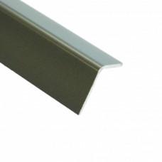 PVC Equal Angle Titanium Grey | 20mm x 20mm x 2m