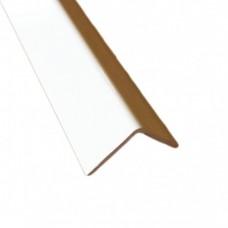 PVC Equal Angle White Gloss | 20mm x 20mm x 2m