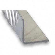 Raw Aluminium Checker Plate Equal Angle | 40mm x 1.5-2.5mm x 1m