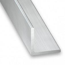 Raw Aluminium Equal Angle (Polished) | 20mm x 1.5mm x 1m