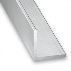 Raw Aluminium Equal Corner | 50mm x 2mm x 2m