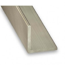Stainless Steel 304L Grade Equal Angle Corner Trim | 15mm x 1mm x 2m