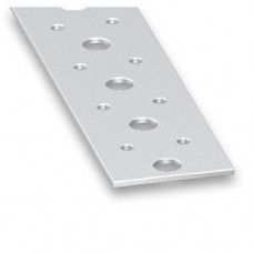 Cold Pressed Steel Perforated Flat Bar | 40mm x 2mm x 1m