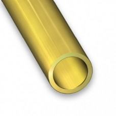 Brass Tube | 8mm x 0.5mm x 1m