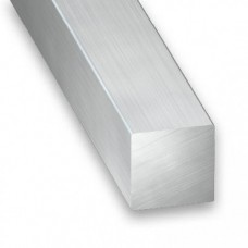 Raw Aluminium Square Bar | 6mm x 1m