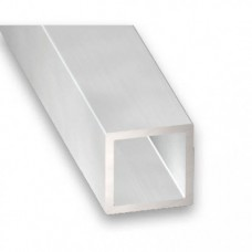 Raw Aluminium Square Tube | 25mm x 1.5mm x 1m