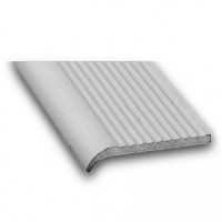 Anodised Aluminium Stair Nosing | 25mm x 5mm x 1m