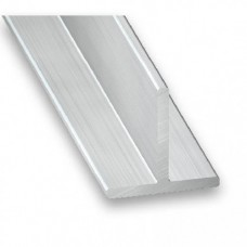 Raw Aluminium T Section | 20mm x 20mm x 2m