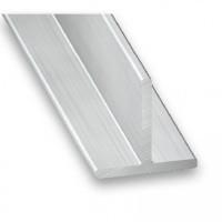 Raw Aluminium T Section | 20mm x 20mm x 1m