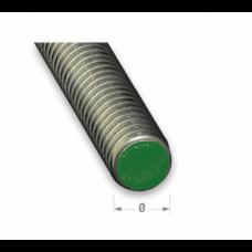 M6 Stainless Steel Threaded Rod Steel Studding   6mm x 1m