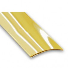 Brass Plated Self-Adhesive Flooring Threshold Strip | 30mm x 830mm