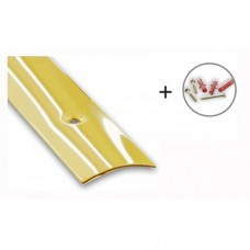 Brass Plated Flooring/Carpet Threshold Strip | 30mm x 830mm