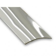 Stainless Steel Self-Adhesive Flooring Threshold Strip | 30mm x 830mm