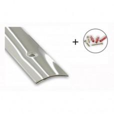 Stainless Steel Flooring/Carpet Threshold Strip | 40mm x 1660mm