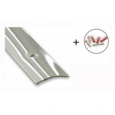 Stainless Steel Flooring/Carpet Threshold Strip | 30mm x 730mm