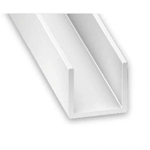 Pvc Plastic Channel White 12mm X 10mm X 2m