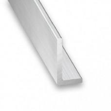 Raw Aluminium Unequal Angle   10mm x 25mm x 2m