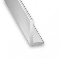 Raw Aluminium Unequal Angle   15mm x 20mm x 1m