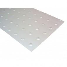 Anodised Aluminium Circular Embossed Pattern | 1000mm x 500mm x 0.8mm