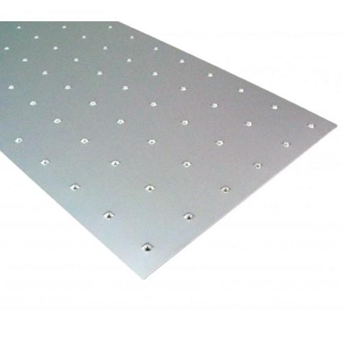 Square Embossed Anodised Aluminium 500mm X 500mm X 1mm