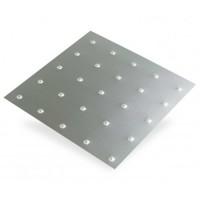 Square Embossed Anodised Aluminium | 1m x 500mm x 1mm