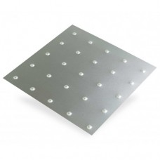 Square Embossed Anodised Aluminium | 1m x 500mm x 1mm
