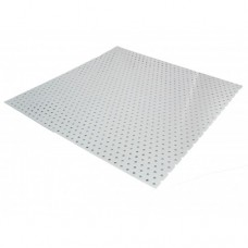 Round Perforated Raw Aluminium Sheet Ø 5mm | 1m x 500mm x 1mm