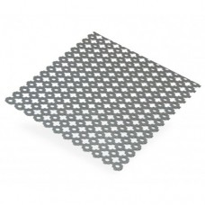 Clover Perforated Decorative Steel Sheet | 500mm x 250mm x 1mm