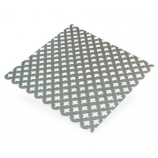Cross Perforated Decorative Steel Sheet | 500mm x 250mm x 1mm