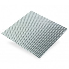 Raised Square Textured Aluminium | 500mm x 250mm x 0.5mm